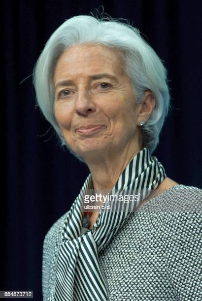 Christine Lagarde French politician Managing Director of the International Monetary Fund IMF Caution For the Not for advertising or other commercial...