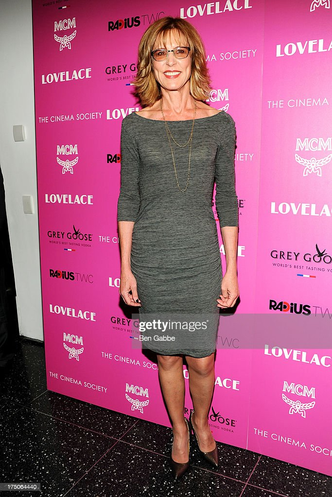 Christine Lahti attends The Cinema Society and MCM with Grey Goose host a screening of Radius TWC's 'Lovelace' at The Museum of Modern Art on July 30, 2013 in New York City.