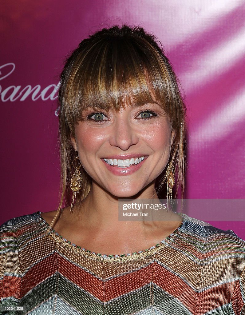 <a gi-track='captionPersonalityLinkClicked' href=/galleries/search?phrase=Christine+Lakin&family=editorial&specificpeople=837315 ng-click='$event.stopPropagation()'>Christine Lakin</a> arrives to the 'Candy Ice' jewelry launch event held at MyStudio Nightclub on August 13, 2010 in Los Angeles, California.