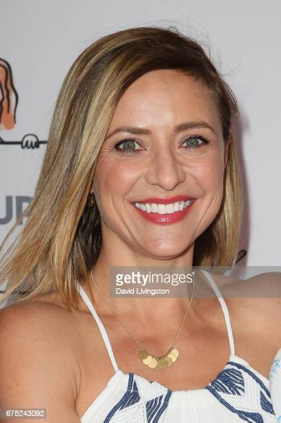Christine Lakin attends the WE ALL PLAY FUNdraiser hosted by the Zimmer Children's Museum at the Zimmer Children's Museum on April 30 2017 in Los...