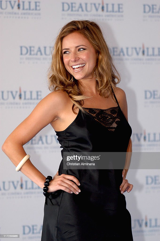 Christine Lakin during 31st American Film Festival of Deauville Reefer Madness Photocall at CID in Deauville France