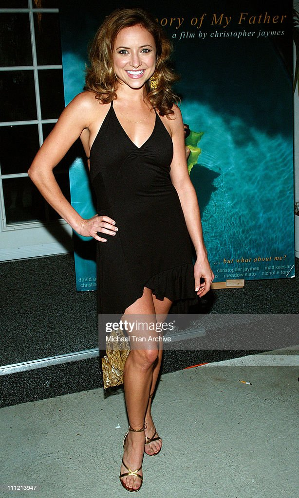 Christine Lakin during 'In Memory of My Father' PreParty November 7 2005 at AFI Rooftop Village in Los Angeles California United States