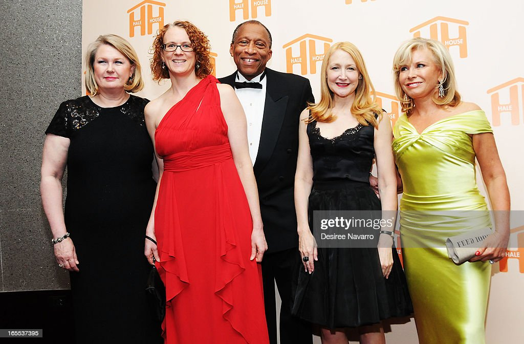 Christine Larson, Annie Murphy, Zachary Carter, <a gi-track='captionPersonalityLinkClicked' href=/galleries/search?phrase=Patricia+Clarkson&family=editorial&specificpeople=202994 ng-click='$event.stopPropagation()'>Patricia Clarkson</a> and <a gi-track='captionPersonalityLinkClicked' href=/galleries/search?phrase=Sharon+Bush&family=editorial&specificpeople=217522 ng-click='$event.stopPropagation()'>Sharon Bush</a> attend the 2013 Hale House Spring Gala at Mandarin Oriental Hotel on April 3, 2013 in New York City.