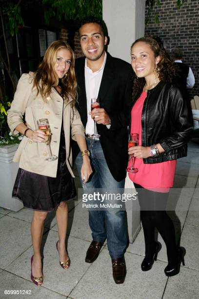 Christine Laurent Peter da Silva Vint and Meili da Silva Vint attend THE SUPPER CLUB NEW YORK Hosts an Opening Party for HUDSON'S SKY TERRACE with 1...