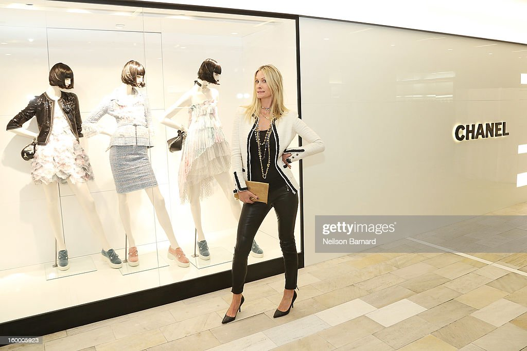 Christine Mack attends Bloomingdale's celebration of the newly renovated Chanel RTW Boutique at Bloomingdale's 59th Street Store on January 24, 2013 in New York City.