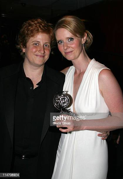 Christine Marinoni and Cynthia Nixon winner of Best Performance by a Leading Actress in a Play for 'Rabbit Hole'