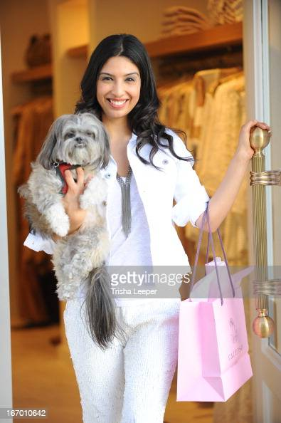 Christine Martinez attends 'A Balanced Life' discussion panel event at Calypso St Barth at Stanford Shopping Center on April 18 2013 in Palo Alto...