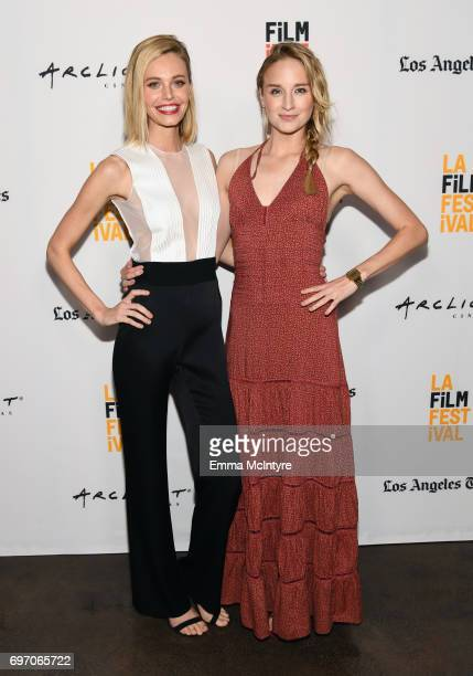 Christine Marzano and Brianna Barnes attend 'A Midsummer Night's Dream' Premiere during the 2017 Los Angeles Film Festival at ArcLight Santa Monica...