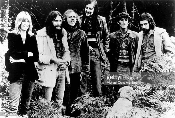 Christine McVie Dave Walker Bob Welch Mick Fleetwood Bob Weston John McVie of the rock group 'Fleetwood Mac' pose for a portrait in 1972