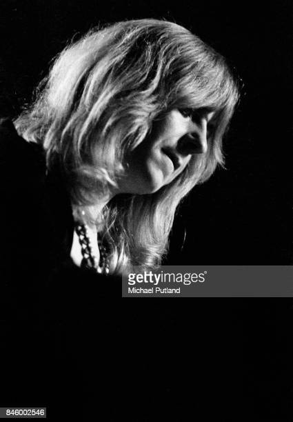 Christine McVie of Fleetwood Mac performs on stage 5th June 1973