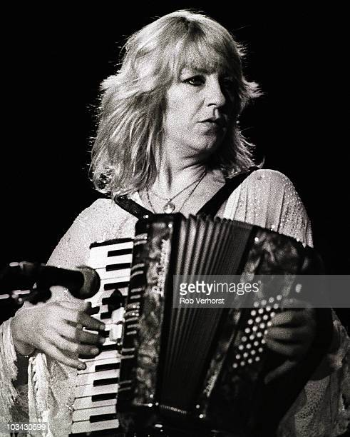 Christine McVie of Fleetwood Mac performs on stage at Ahoy on 13th June 1980 in Rotterdam Netherlands