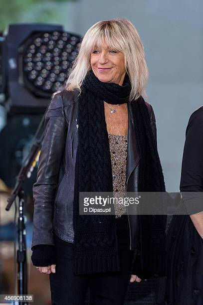 Christine McVie of Fleetwood Mac performs onstage during NBC's 'Today' at Rockefeller Plaza on October 9 2014 in New York City