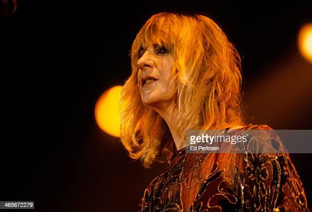Christine McVie performs with Fleetwood Mac at the Cow Palace in December 1979 in San Francisco California