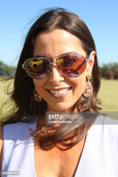 Christine Montanti attends the First Annual Polo Hamptons Match at Southampton Polo Club on June 24 2017 in New York City