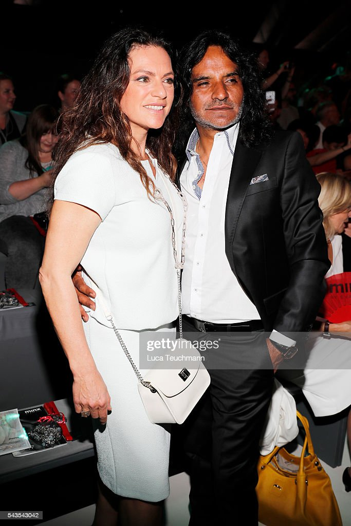 <a gi-track='captionPersonalityLinkClicked' href=/galleries/search?phrase=Christine+Neubauer&family=editorial&specificpeople=214540 ng-click='$event.stopPropagation()'>Christine Neubauer</a> and José Campos attend the Minx by Eva Lutz show during the Mercedes-Benz Fashion Week Berlin Spring/Summer 2017 at Erika Hess Eisstadion on June 29, 2016 in Berlin, Germany.
