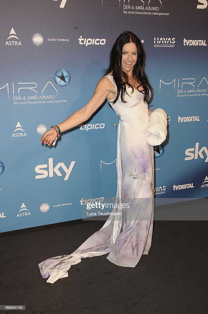 Christine Neubauer attend the Mira Award 2013 at Station on January 24, 2013 in Berlin, Germany.