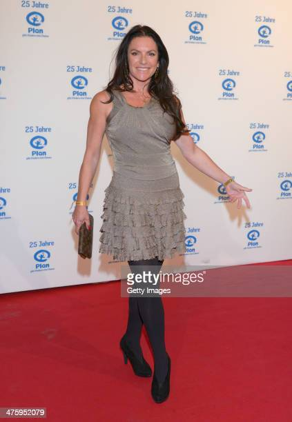 Christine Neubauer attends 25 Years Plan International Germany ceremony at Fischauktionshalle on March 1 2014 in Hamburg Germany