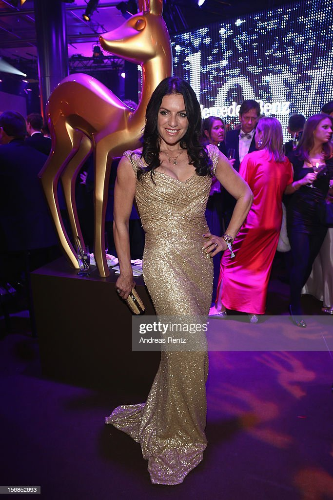 Christine Neubauer attends the after show party to the 'BAMBI Awards 2012' at the Stadthalle Duesseldorf on November 22, 2012 in Duesseldorf, Germany.