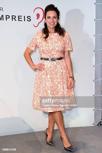 Christine Neubauer attends the Deutscher Hoerfilmpreis 2015 at Deutsche Bank on March 17 2015 in Berlin Germany