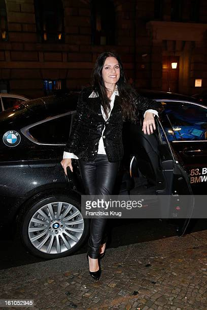 Christine Neubauer attends the 'Festival Night by Bunte and BMW' at the 63rd Berlinale International Film Festival at the Humboldt Carre on February...