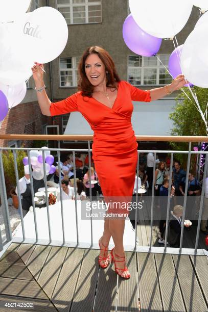 Christine Neubauer attends the Gala Fashion Brunch at Ellington Hotel on July 11 2014 in Berlin Germany