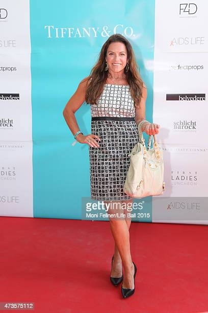 Christine Neubauer attends the Life Ball 2015 first ladies lunch at Belvedere Palace on May 16 2015 in Vienna Austria The Life Ball an annual charity...