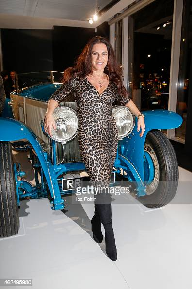 Christine Neubauer attends the Rolls Royce Studio Opening on January 29 2015 in Berlin Germany