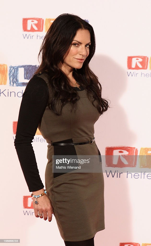 Christine Neubauer attends the 'RTL Spendenmarathon' at RTL Studios on November 23, 2012 in Cologne, Germany.