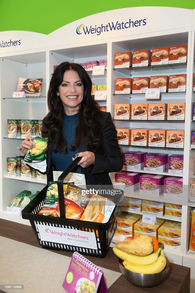 Christine Neubauer Opens Weight Watcher Center on January 19, 2013 in Munich, Germany.