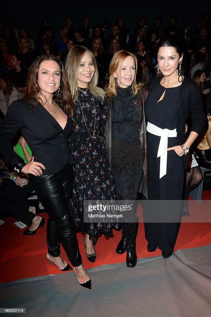 Christine Neubauer Ornella Muti Katja Flint and Mariella Ahrens attend the 'Shop the Runway by FASHION ID' show during the MercedesBenz Fashion Week...