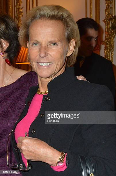 Christine Ockrent attends the launch of 'Paris A Love Story' by Kati Marton at US Ambassador Residence on October 31 2012 in Paris France
