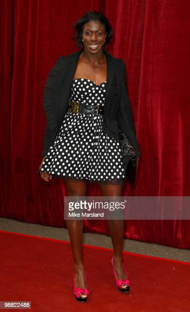 Christine Ohurugh attends 'An Audience With Michael Buble' at The London Studios on May 3 2010 in London England