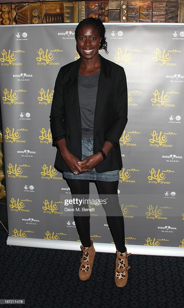 Christine Ohuruogu attends the Undefeated UK Film Premiere on November 29, 2012 in London, England.