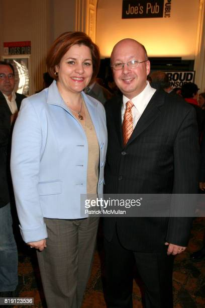 Christine Quinn and Andrew Hamingson attend THE PUBLIC THEATRE Kicks Off Building Renovations and Launches CAPITAL CAMPAIGN With CEREMONIAL...