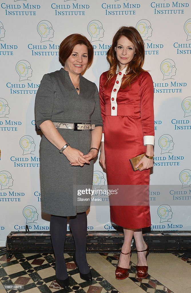 Christine Quinn and Stephanie LaCava attend Child Mind Institute's 3rd Annual Child Advocacy Award Dinner at Cipriani 42nd Street on December 12, 2012 in New York City.