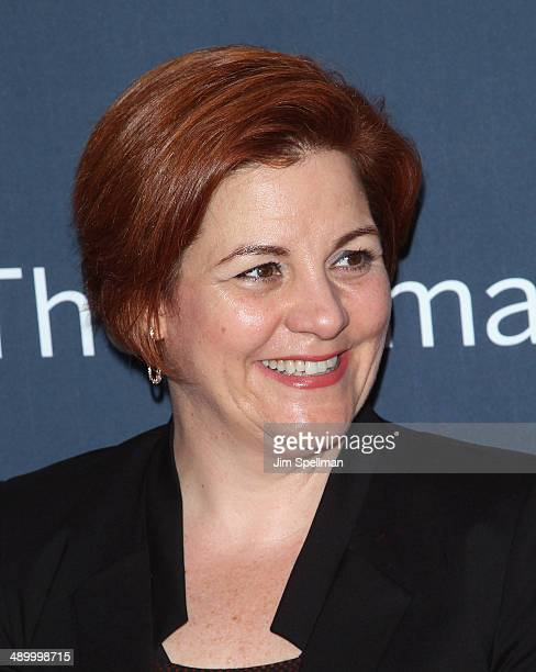 Christine Quinn attends 'The Normal Heart' New York Screening at Ziegfeld Theater on May 12 2014 in New York City