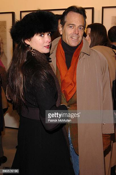 Christine Salata and Gene Pressman attend The Opening of 'Pam American Icon' Photograghs by Sante D'Orazio at Stellan Holm Gallery on January 21 2005...