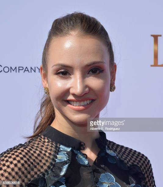 Christine Shevchenko attends the premiere of The Weinstein Company's 'Leap' at the Pacific Theatres at The Grove on August 19 2017 in Los Angeles...