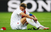 Christine Sinclair of Canada is seen after the FIFA Women's World Cup 2011 Group A match between Canada and France at Rewirpower Stadium on June 30...