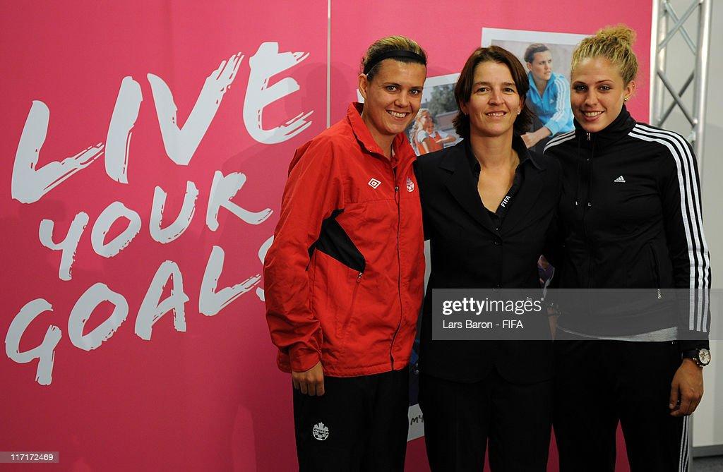 2011 FIFA Womens Football Live Your Goals Campaign Press