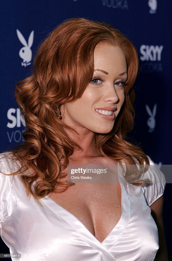 Christine Smith during Skyy Vodka Celebrates Playboy's August Issue With Playmate of the Year Kara Monaco - Red Carpet at Mood in Hollywood, California, United States.