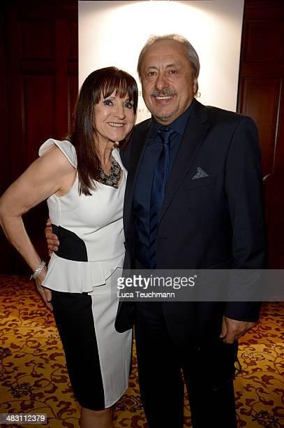 Christine Stumph and Wolfgang Stumph attend Felix Burda Award 2014 at Hotel Adlon on April 6 2014 in Berlin Germany
