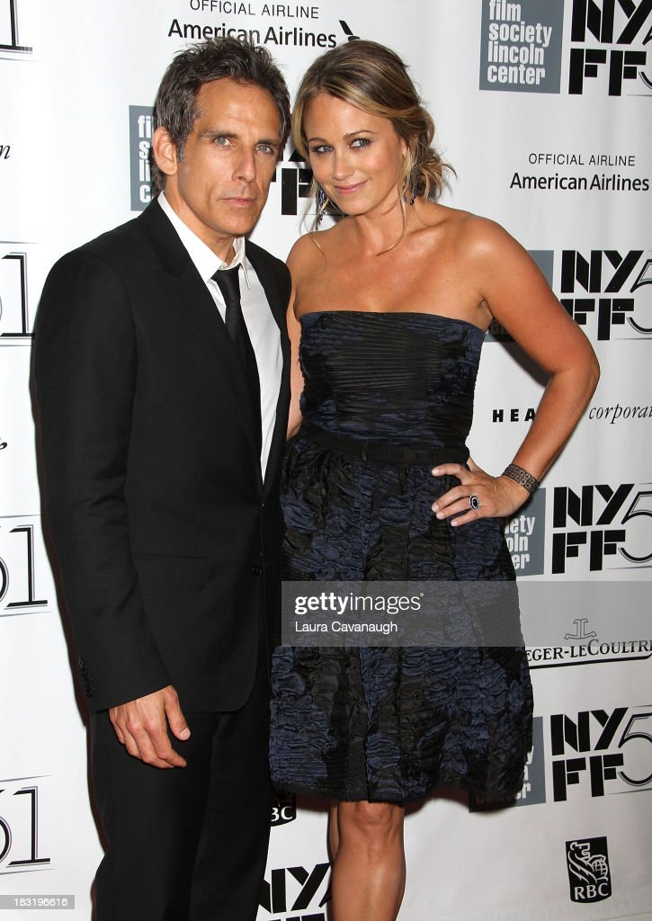 <a gi-track='captionPersonalityLinkClicked' href=/galleries/search?phrase=Christine+Taylor&family=editorial&specificpeople=201985 ng-click='$event.stopPropagation()'>Christine Taylor</a> and <a gi-track='captionPersonalityLinkClicked' href=/galleries/search?phrase=Ben+Stiller&family=editorial&specificpeople=201806 ng-click='$event.stopPropagation()'>Ben Stiller</a> attend the Centerpiece Gala Presentation Of 'The Secret Life Of Walter Mitty' during the 51st New York Film Festival at Alice Tully Hall at Lincoln Center on October 5, 2013 in New York City.