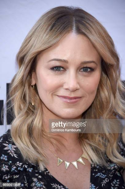 Christine Taylor attends the 'Groundhog Day' Broadway Opening Night at August Wilson Theatre on April 17 2017 in New York City