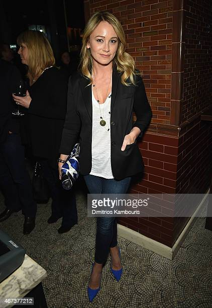 Christine Taylor attends 'While We're Young' New York Premiere after party at Lexington Brass on March 23 2015 in New York City