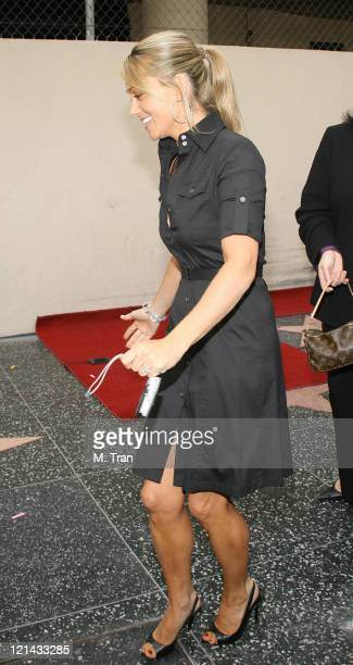 Christine Taylor during Jerry Stiller and Anne Meara Honored with a Star on the Hollywood Walk of Fame at 7018 Hollywood Blvd in Hollywood California...