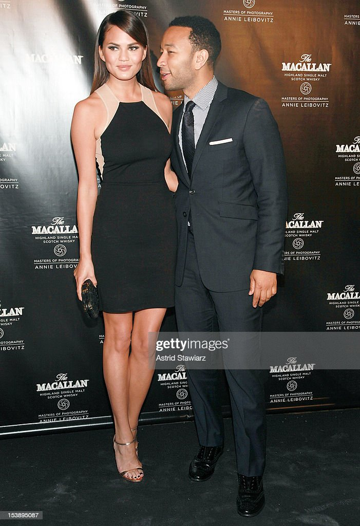 <a gi-track='captionPersonalityLinkClicked' href=/galleries/search?phrase=Christine+Teigen&family=editorial&specificpeople=4583768 ng-click='$event.stopPropagation()'>Christine Teigen</a> and <a gi-track='captionPersonalityLinkClicked' href=/galleries/search?phrase=John+Legend&family=editorial&specificpeople=201468 ng-click='$event.stopPropagation()'>John Legend</a> attend The Macallan Masters Of Photography Series at The Bowery Hotel on October 10, 2012 in New York City.