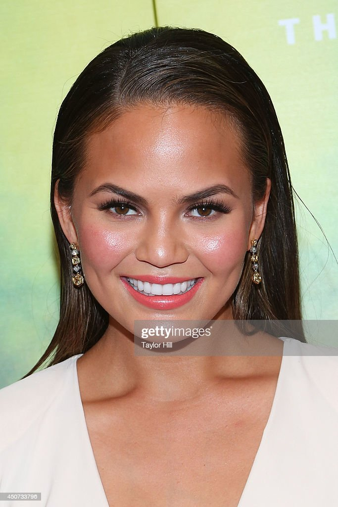 Christine Teigen attends 2014 Fragrance Foundation awards at Alice Tully Hall Lincoln Center on June 16 2014 in New York City