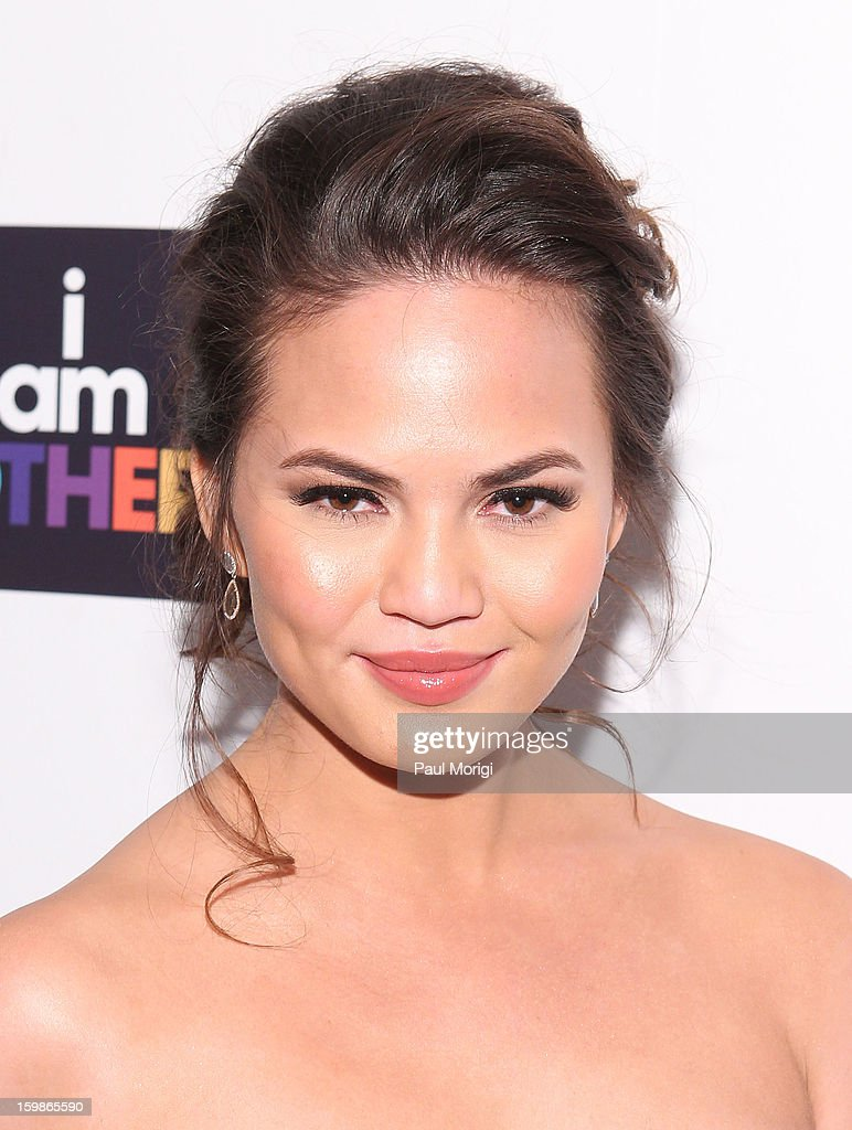 Christine Teigen attends the 2013 Learn.Build.Create Inaugural Celebration at W Washington D.C. on January 21, 2013 in Washington, United States.