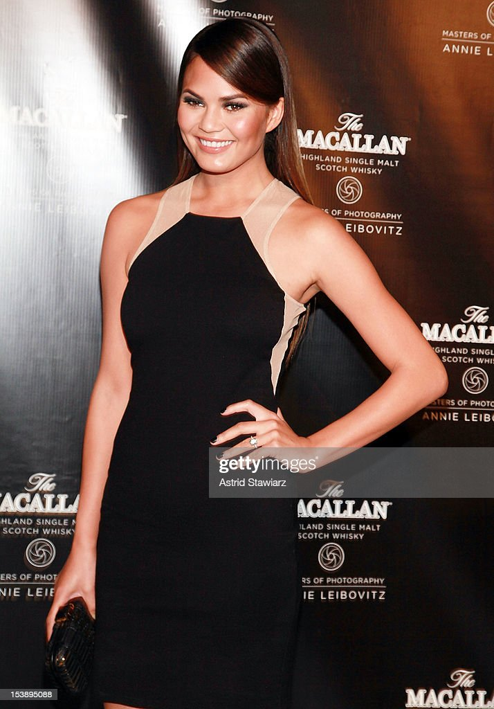 Christine Teigen attends The Macallan Masters Of Photography Series at The Bowery Hotel on October 10, 2012 in New York City.